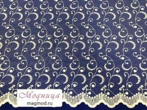 Сетка с вышивкой тюлевые ткани модница екатеринбург