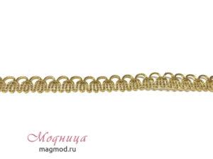 Тесьма металлизированная декор фурнитура опт розница магазин модница екатеринбург