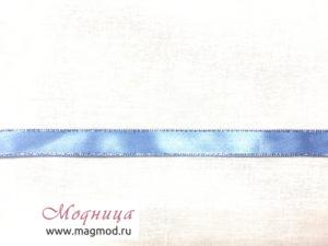 Лента атласная с металлизированной нитью