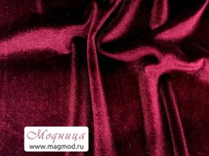 Бархат ткани модница екатеринбург