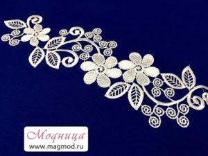 лейсы цветы фурнитура