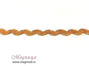 Лента декоративная Зигзаг с люрексом екатеринбург