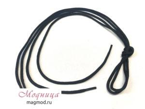 Шнурки круглые 3 мм вощеные декор фурнитура модница екатеринбург