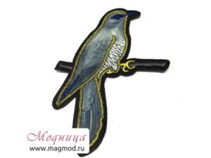 Аппликация пришивная Птичка и другие ткани опт розница екатеринбург