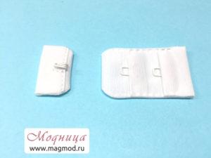 Застежка для бюстгальтера (1 крючок) женщины фурнитура