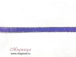 Лента металлизированная декор фурнитура