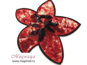 Термоаппликация FASHION Цветок декор красота
