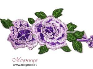 Термоаппликация Розы различные цвета модница екатеринбург