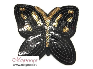 Термоаппликация FASHION Бабочка широкий ассортимент