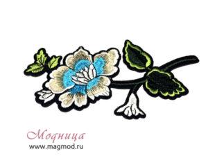 Термоаппликация Роза одежда фурнитура ткани модница