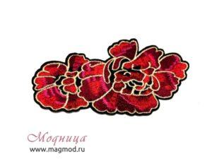 Термоаппликация Роза купить декор екатеринбург