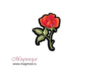 Термоаппликация Роза модница фурнитура екатеринбург