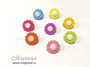 Пуговица Цветок одежда дизайн декор екатеринбург