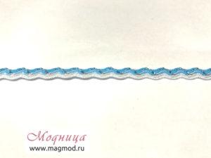 Тесьма плетеная Вьюнчик с метанином декор екатеринбург