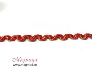Тесьма плетеная Вьюнчик с метанином екатеринбург