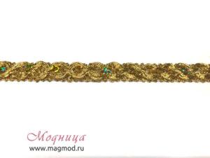 Тесьма металлизированная с пайетками опт розница екатеринбург