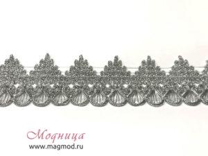 Тесьма металлизированная декор мода блеск екатеринбург