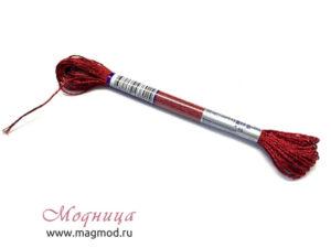 Мулине металлизированные нитки для вышивания модница екатеринбург