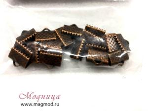 Концевики Зажим для лент екатеринбург модница