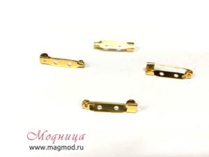 Заготовка для броши металлическая детали модница стиль украшения броши