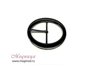 Пряжка металлическая круг декор фурнитура