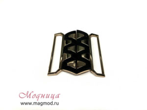 Пряжка металлическая декор украшение фурнитура модница