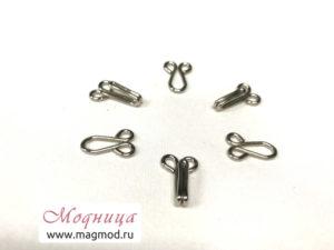 Крючок для одежды металлический фурнитура модница екатеринбург