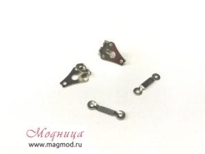 Крючок брючный пришивной 2 детали фурнитура опт розница екатеринбург