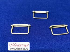 Шлевка металлическая декор одежда фурнитура опт розница