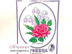 Набор для вышивания бисером Розы декор дизайн екатеринбург