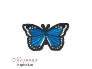 Термоаппликация Бабочка модница екатеринбург опт розница фурнитура