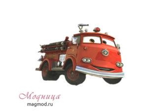 Термотранфер Пожарная машина купить екатеринбург модница