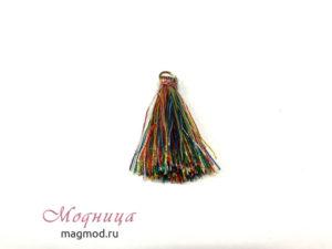 Кисточка с кольцом декор рукоделие екатеринбург магазин модница