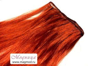 Волосы прямые трессы для игрушек модница