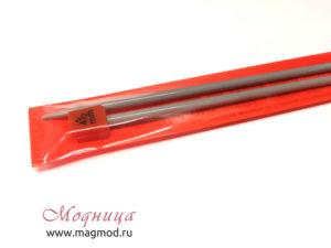 Спицы VISANTIA для вязания прямые металлические с покрытием 4,5 мм товары для вязания модница екатеринбург