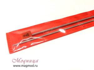 Спицы VISANTIA для вязания прямые металлические с покрытие 2 мм ассортимент модница вязание