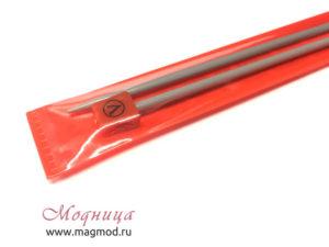 Спицы VISANTIA для вязания прямые металлические с покрытием 4 мм вязание модница екатеринбург