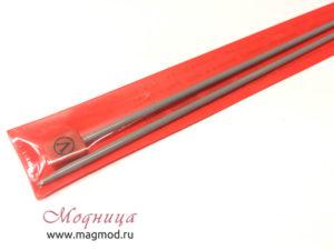 Спицы VISANTIA для вязания прямые металлические с покрытием 3,5 мм модница