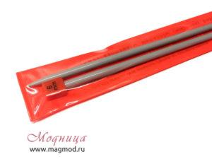 Спицы VISANTIA для вязания прямые металлические с покрытием 6 мм рукоделие вязание модница