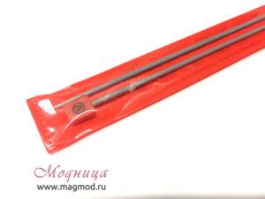 Спицы VISANTIA для вязания прямые металлические с покрытием 3 мм купить екатеринбург
