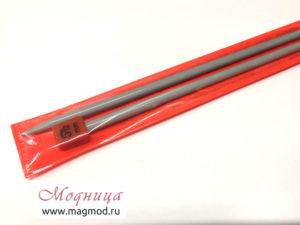 Спицы VISANTIA для вязания прямые металлические с покрытием 5,5 мм модница екатеринбург опт розница