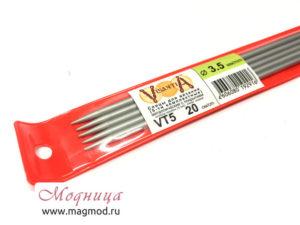 Спицы VISANTIA для вязания (5 шт) 3,5 мм рукоделие опт розница екатеринбург