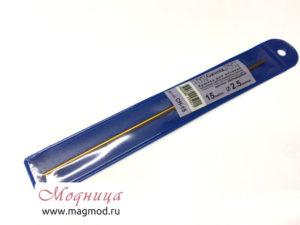 Крючок для вязания металлический 2,5 мм рукоделие хобби вязание екатеринбург