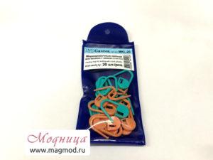 Маркировочные кольца для вязания с замком (20 шт) модница екатеринбург
