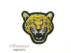 Термоаппликация Леопард фурнитура опт розница екатеринбург модница