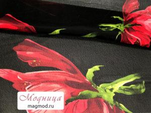 Шифон набивной опт розница ткани модница
