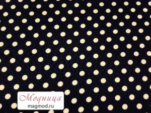 Вискоза Супер Софт Горох принт дизайн ткани опт розница екатеринбург модница
