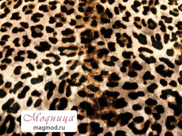 Бархат Леопард ткани тренды мода модница