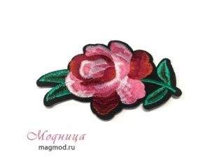 Термоаппликация Роза декор своими руками дизайн модница