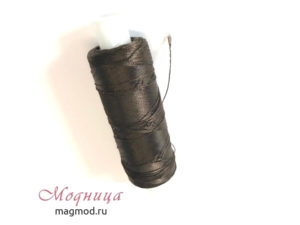 Нитки Капрон обувной 9К фурнитура ткани магазин модница